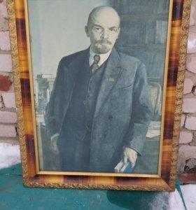 Ленин в рамке