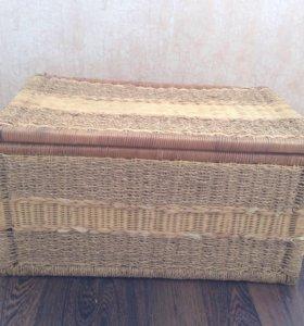 Ящик для хранения плетённый