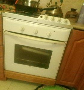 Газовая плита (панель) ARISTON с духовкой