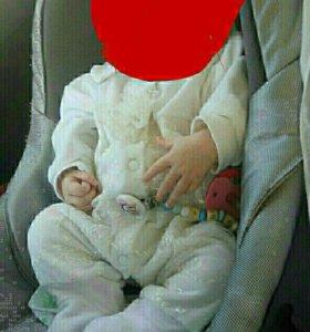 Детская автолюлька до 9 кг