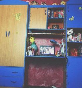 Шкаф детский комбинированный