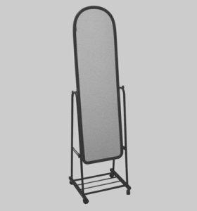 Зеркало на колесиках