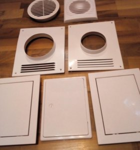 Вентиляционные решётки. Шланги водяные