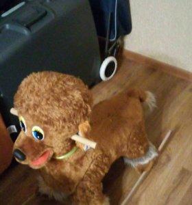 детская качалка-собака