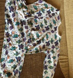 Пижама на рост 122-128 см