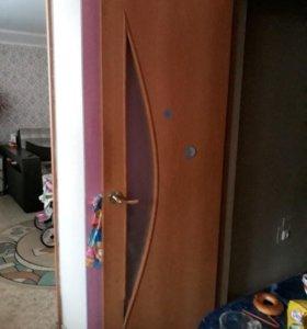 Межкомнатные двери б/у есть торг