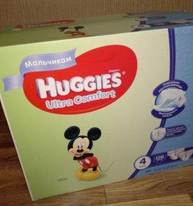 Huggies Ultra Comfort 4(8-14кг) 126шт
