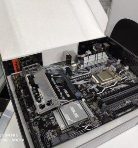 Asus Prime H270 - PLUS + процесс