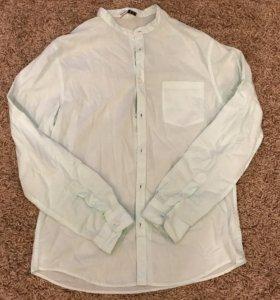 Летняя легкая мужская рубашка Bershka
