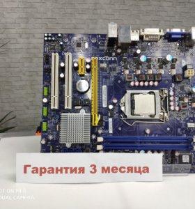Материнская плата FoxConn H55MXV + i3 550