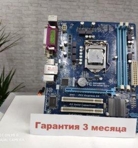 Материнская плата Gigabyte GA-H61M-S2PV + Intel