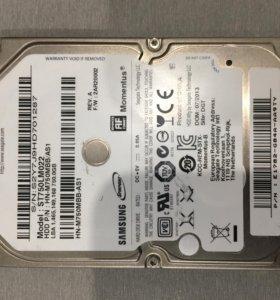 "Жёсткий диск Samsung 750 Gb SATA 2,5"""