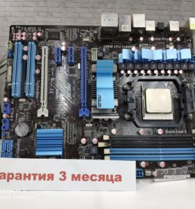 Asus M4A79XTD EVO+процессор AMD Phenom 2