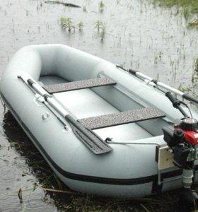 Лодка 4 м с мотором Ямаха 9.9