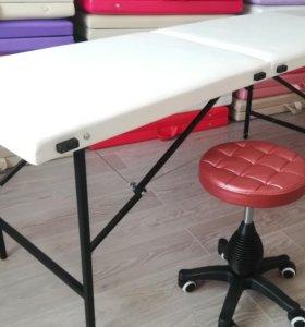 Кушетка косметологическая, массажный стол,складные