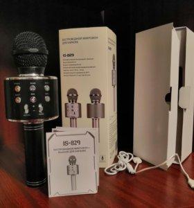 Многофункциональный микрофон (колонка) для караоке