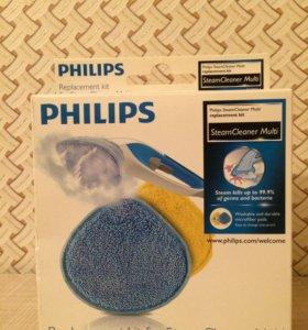 Комплект насадок для пароочистителей Philips FC 80