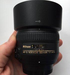 Nikon nikkor 50 mm 1.4G