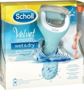 Электрическая роликовая пилка Scholl Wet&Dry