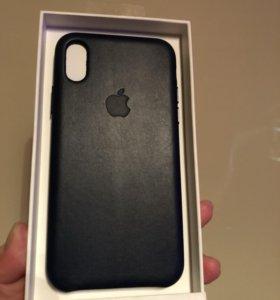 Новый чехол для IPhone Х Apple leather case