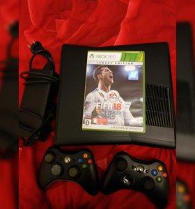 Прошиваемая Xbox360 slim 250гб