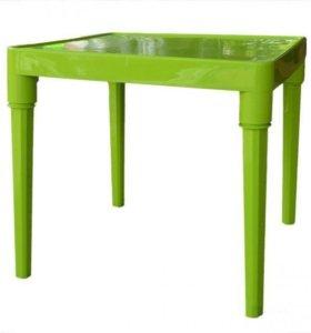 Стол и стул детский (новое)