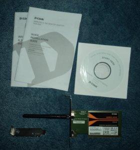 Wi-Fi адаптер D-Link WIRELESS N150 DWA-525.