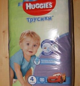 Трусики Huggies для мальчиков размер 4 52 шт.