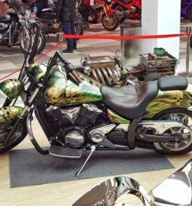 Yamaha XVS1300A Midniht custom