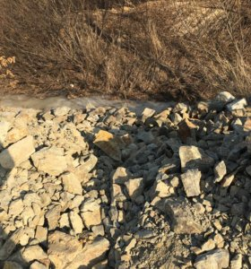 Продам скальный грунт 18 кубов с доставкой