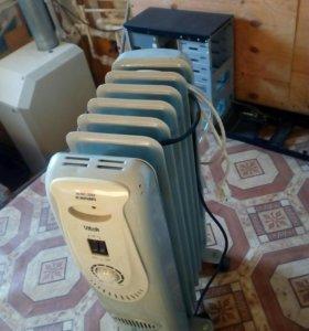 Масляный радиатор и конвектор.