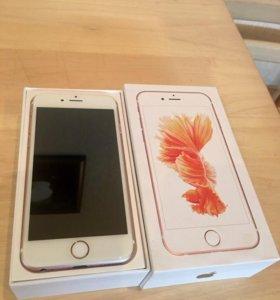 Iphone 6s розовое золото