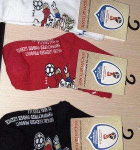 Носочки 14 размер с логотипом ФИФА