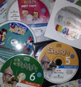 Шесть новых дисков по английскому для детей