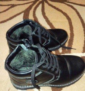 зимняя обувь для мальчика р.35