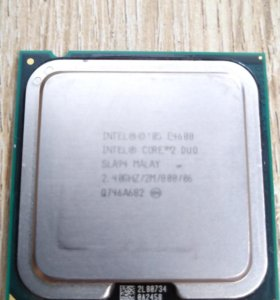 Процессор intel core 2 duo