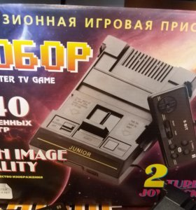 """Dendy """"СЮБОР"""" 440 игр"""
