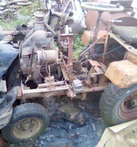 Мини трактор по цене мотоблока.