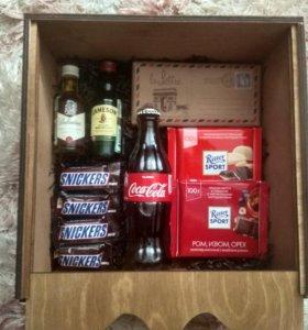 Подарочный набор в ящике