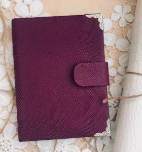 Обложка на паспорт ручная работа