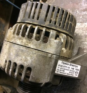 Генератор на 406 мотор 100 а. ч