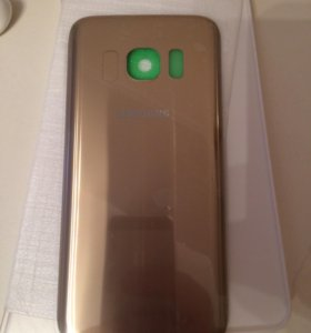 Задняя крышка Samsung Galaxy S7 Gold