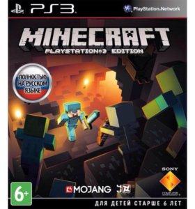 Майнкрафт Minecraft PS3