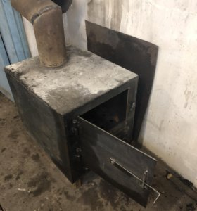 Печка (буржуйка) для гаража