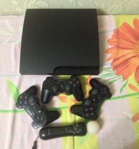 Продам PlayStation 3 + монитор в подарок
