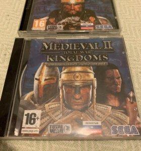 Medieval total war 2 +дополнения.