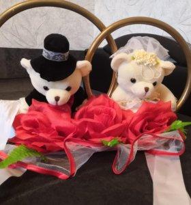 Аксессуары на свадебную машину