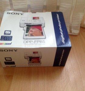 Новый Фотопринтер Sony DPF-FP85