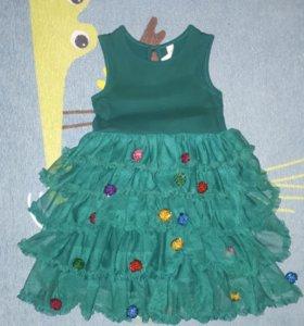 Платье 'Ёлочка'🎄 (Acoola). Новое 💯