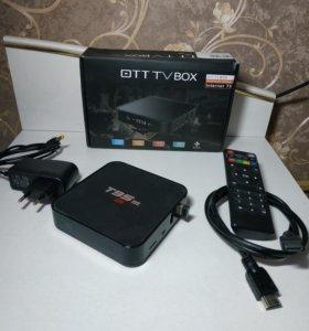 Приставка ОТТВ box Internet TV T95M.
